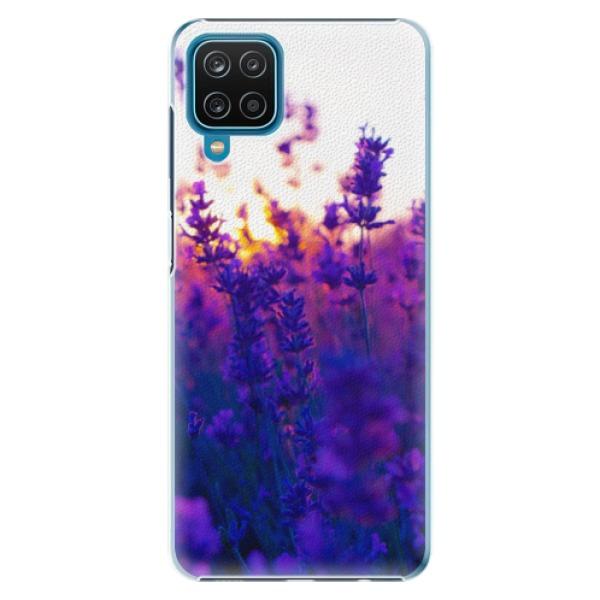Plastové pouzdro iSaprio - Lavender Field - Samsung Galaxy A12