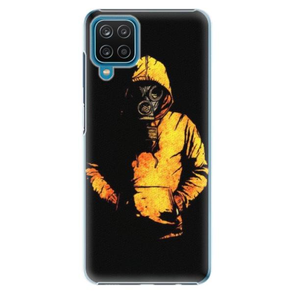 Plastové pouzdro iSaprio - Chemical - Samsung Galaxy A12