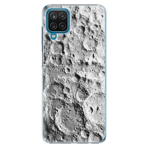 Plastové pouzdro iSaprio - Moon Surface - Samsung Galaxy A12
