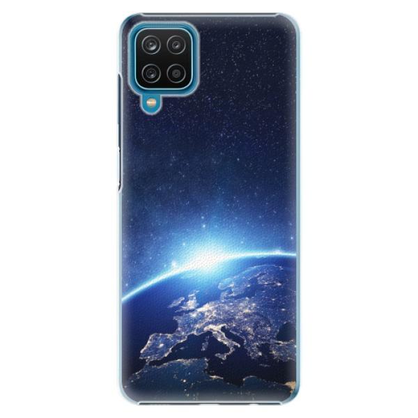 Plastové pouzdro iSaprio - Earth at Night - Samsung Galaxy A12