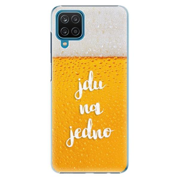 Plastové pouzdro iSaprio - Jdu na jedno - Samsung Galaxy A12