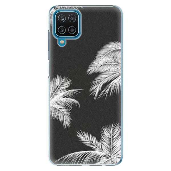 Plastové pouzdro iSaprio - White Palm - Samsung Galaxy A12