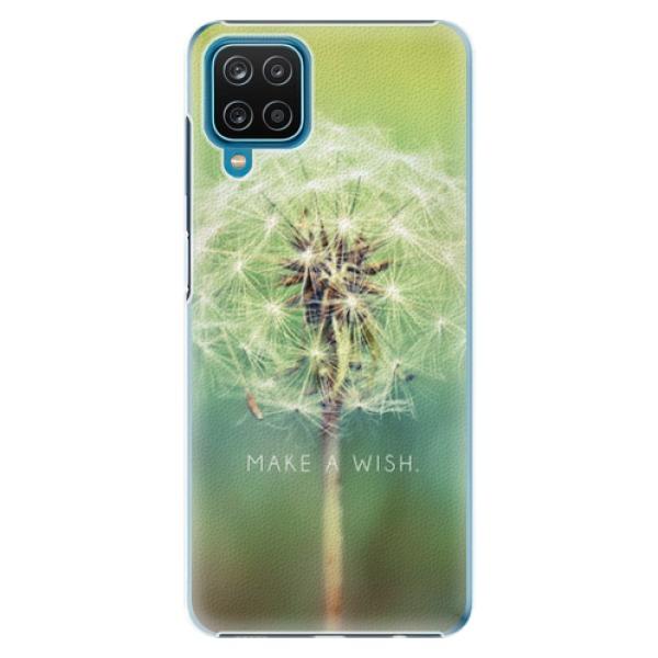 Plastové pouzdro iSaprio - Wish - Samsung Galaxy A12