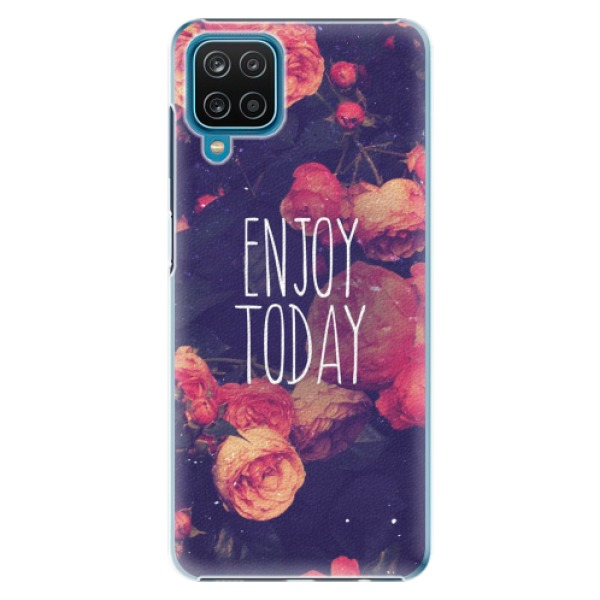 Plastové pouzdro iSaprio - Enjoy Today - Samsung Galaxy A12