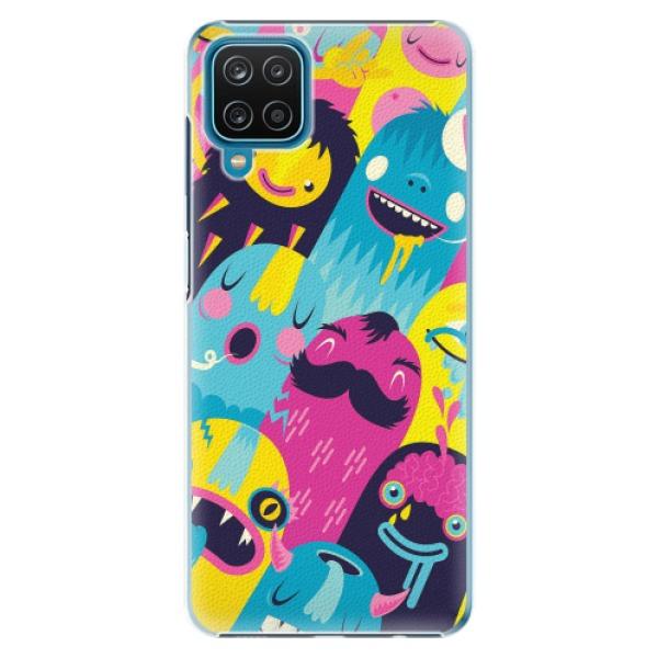 Plastové pouzdro iSaprio - Monsters - Samsung Galaxy A12