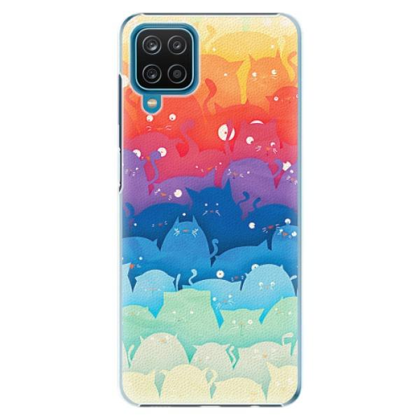 Plastové pouzdro iSaprio - Cats World - Samsung Galaxy A12