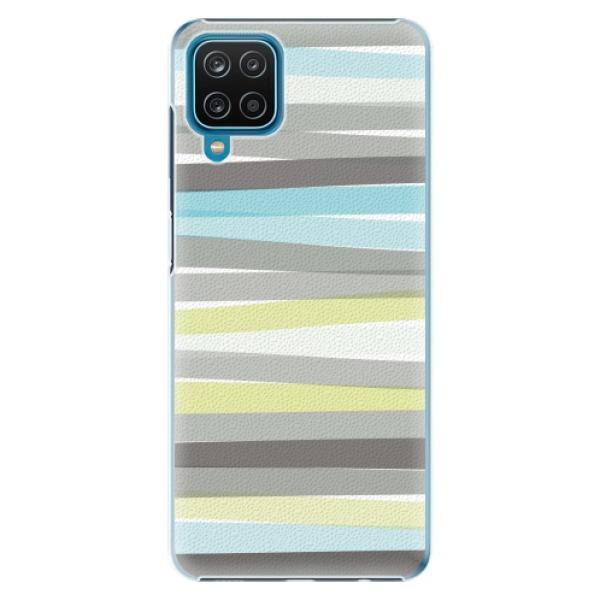 Plastové pouzdro iSaprio - Stripes - Samsung Galaxy A12