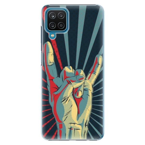 Plastové pouzdro iSaprio - Rock - Samsung Galaxy A12