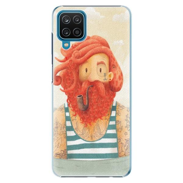 Plastové pouzdro iSaprio - Sailor - Samsung Galaxy A12