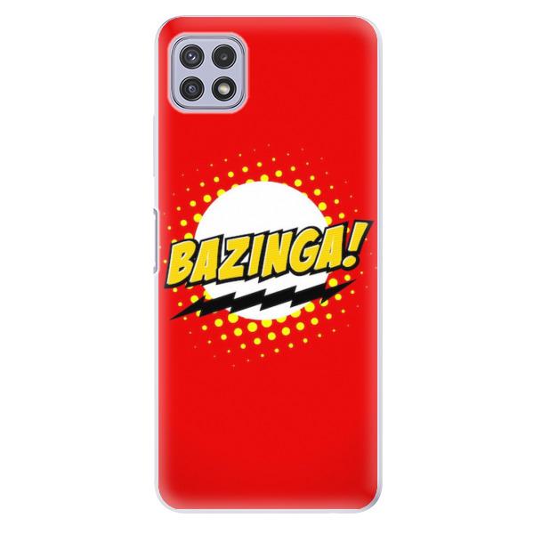 Odolné silikonové pouzdro iSaprio - Bazinga 01 - Samsung Galaxy A22 5G