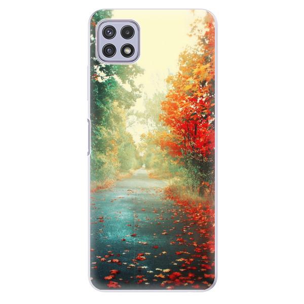 Odolné silikonové pouzdro iSaprio - Autumn 03 - Samsung Galaxy A22 5G