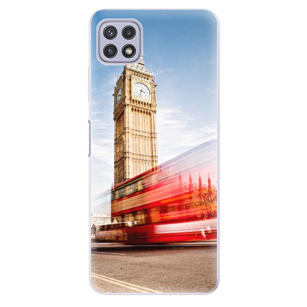 Odolné silikonové pouzdro iSaprio - London 01 - Samsung Galaxy A22 5G