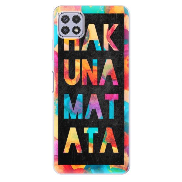 Odolné silikonové pouzdro iSaprio - Hakuna Matata 01 - Samsung Galaxy A22 5G