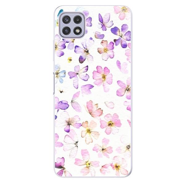 Odolné silikonové pouzdro iSaprio - Wildflowers - Samsung Galaxy A22 5G