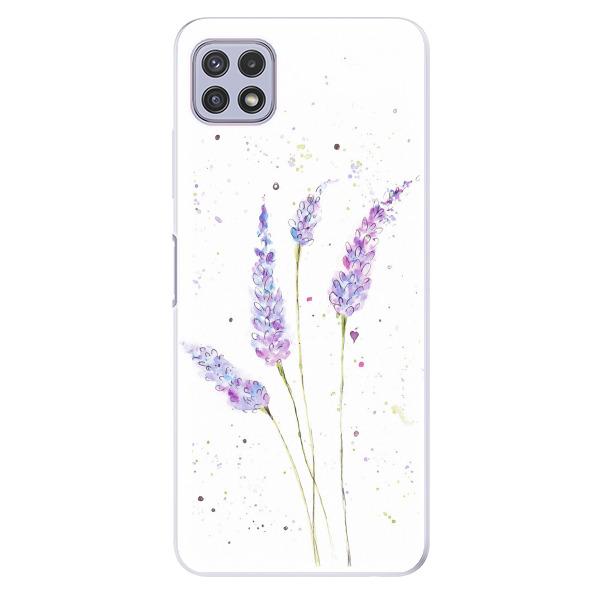 Odolné silikonové pouzdro iSaprio - Lavender - Samsung Galaxy A22 5G