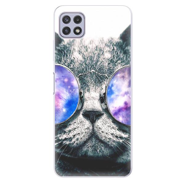 Odolné silikonové pouzdro iSaprio - Galaxy Cat - Samsung Galaxy A22 5G