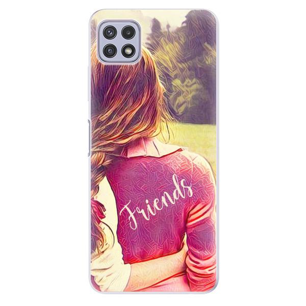 Odolné silikonové pouzdro iSaprio - BF Friends - Samsung Galaxy A22 5G