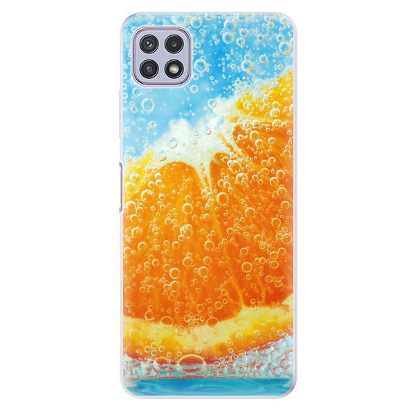 Odolné silikonové pouzdro iSaprio - Orange Water - Samsung Galaxy A22 5G
