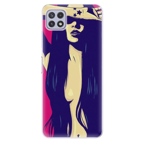 Odolné silikonové pouzdro iSaprio - Cartoon Girl - Samsung Galaxy A22 5G