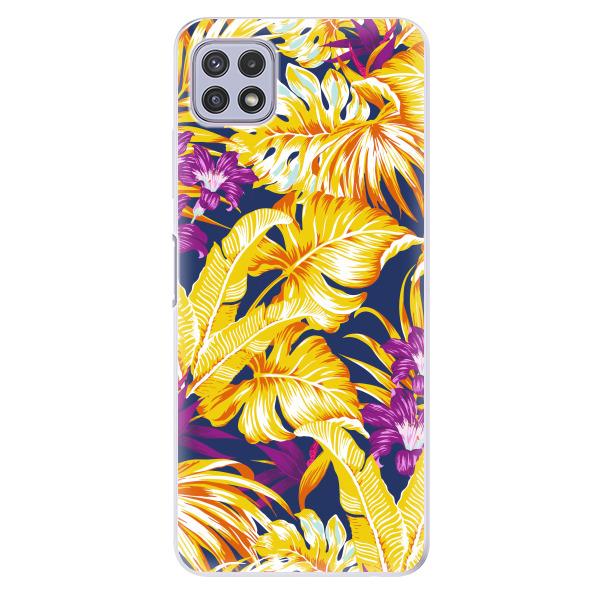 Odolné silikonové pouzdro iSaprio - Tropical Orange 04 - Samsung Galaxy A22 5G