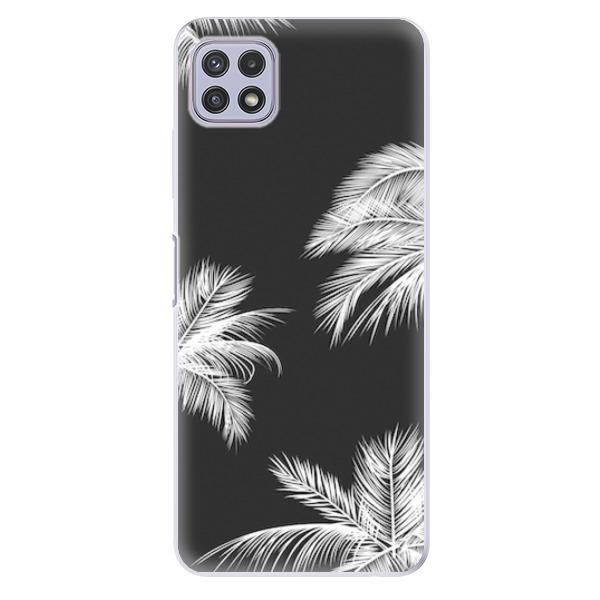 Odolné silikonové pouzdro iSaprio - White Palm - Samsung Galaxy A22 5G