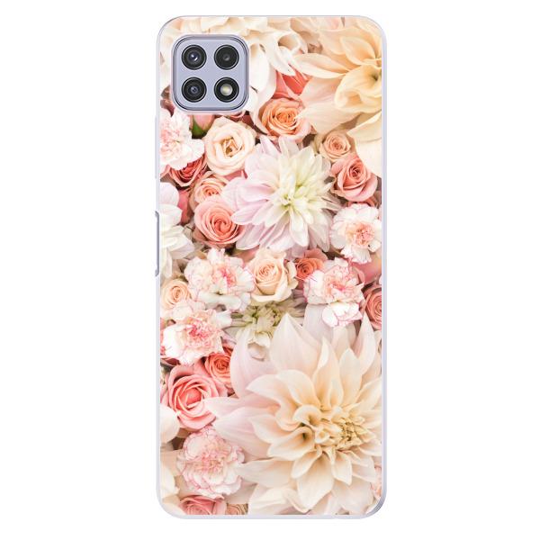 Odolné silikonové pouzdro iSaprio - Flower Pattern 06 - Samsung Galaxy A22 5G