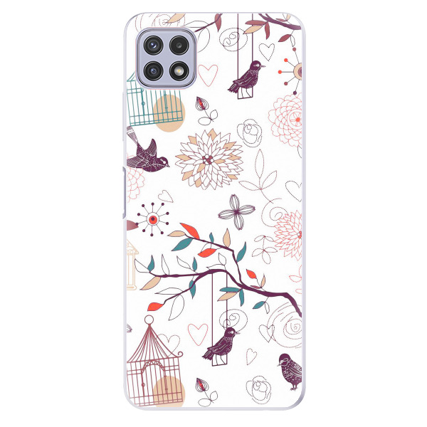 Odolné silikonové pouzdro iSaprio - Birds - Samsung Galaxy A22 5G