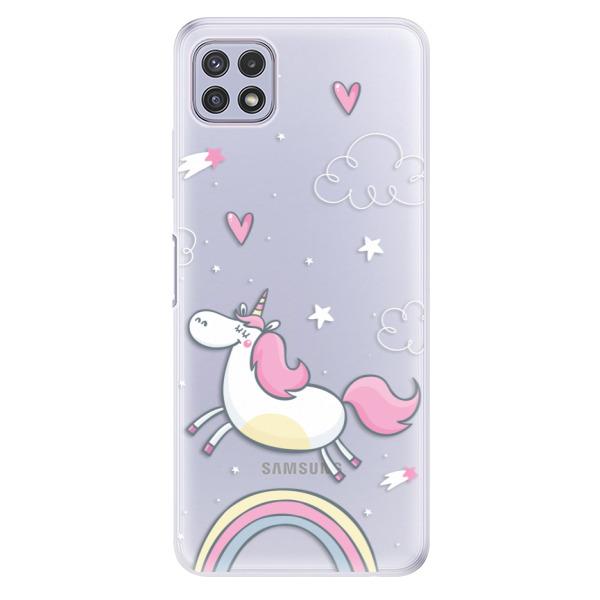 Odolné silikonové pouzdro iSaprio - Unicorn 01 - Samsung Galaxy A22 5G