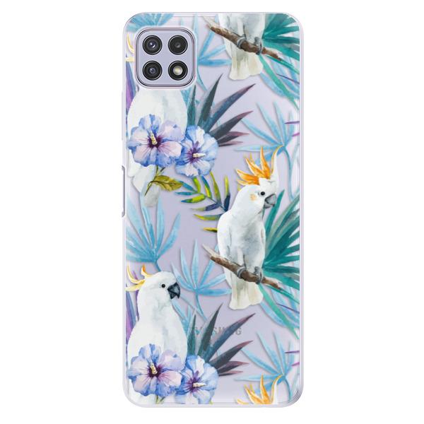 Odolné silikonové pouzdro iSaprio - Parrot Pattern 01 - Samsung Galaxy A22 5G