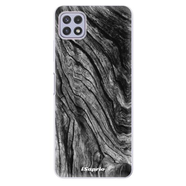 Odolné silikonové pouzdro iSaprio - Burned Wood - Samsung Galaxy A22 5G