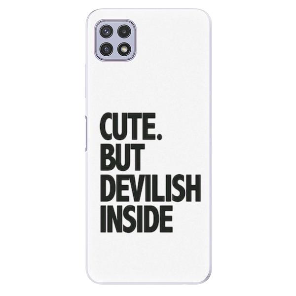 Odolné silikonové pouzdro iSaprio - Devilish inside - Samsung Galaxy A22 5G