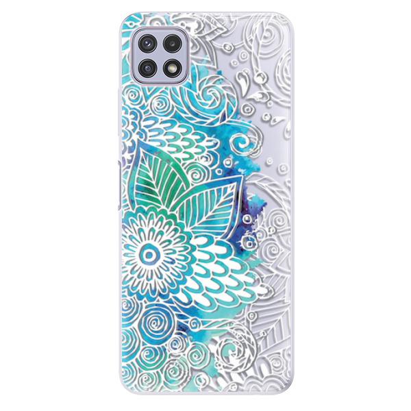 Odolné silikonové pouzdro iSaprio - Lace 03 - Samsung Galaxy A22 5G
