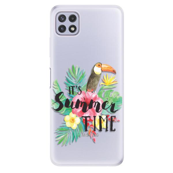 Odolné silikonové pouzdro iSaprio - Summer Time - Samsung Galaxy A22 5G