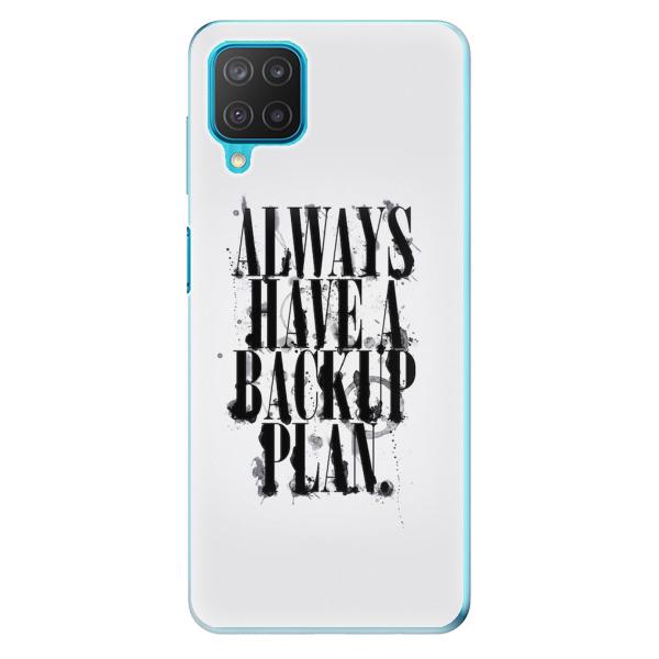 Odolné silikonové pouzdro iSaprio - Backup Plan - Samsung Galaxy M12