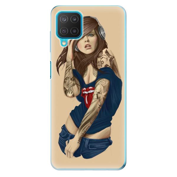 Odolné silikonové pouzdro iSaprio - Girl 03 - Samsung Galaxy M12