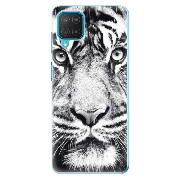 Odolné silikonové pouzdro iSaprio - Tiger Face - Samsung Galaxy M12