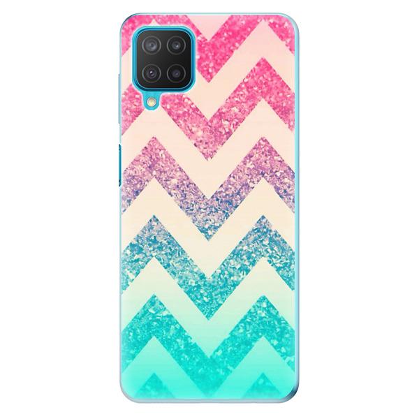 Odolné silikonové pouzdro iSaprio - Zig-Zag - Samsung Galaxy M12