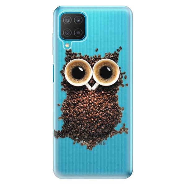 Odolné silikonové pouzdro iSaprio - Owl And Coffee - Samsung Galaxy M12