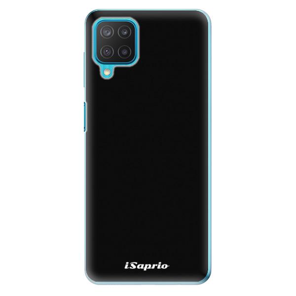 Odolné silikonové pouzdro iSaprio - 4Pure - černý - Samsung Galaxy M12