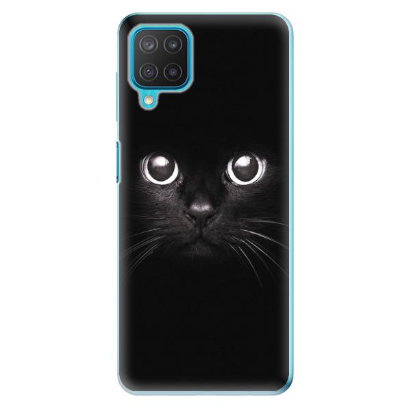 Odolné silikonové pouzdro iSaprio - Black Cat - Samsung Galaxy M12