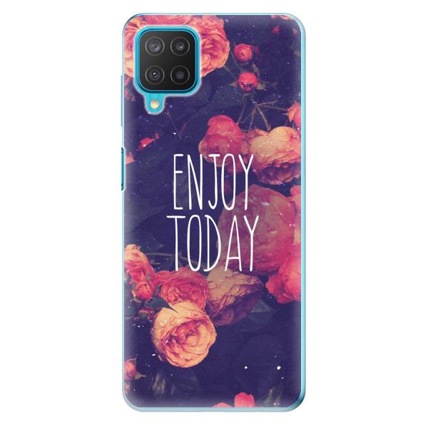Odolné silikonové pouzdro iSaprio - Enjoy Today - Samsung Galaxy M12