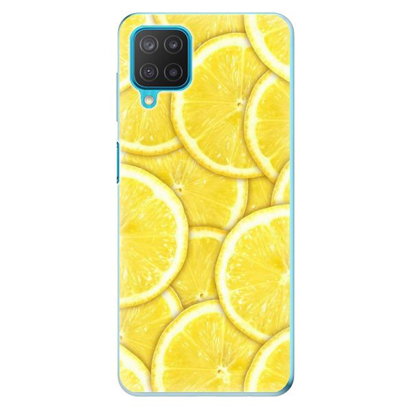 Odolné silikonové pouzdro iSaprio - Yellow - Samsung Galaxy M12