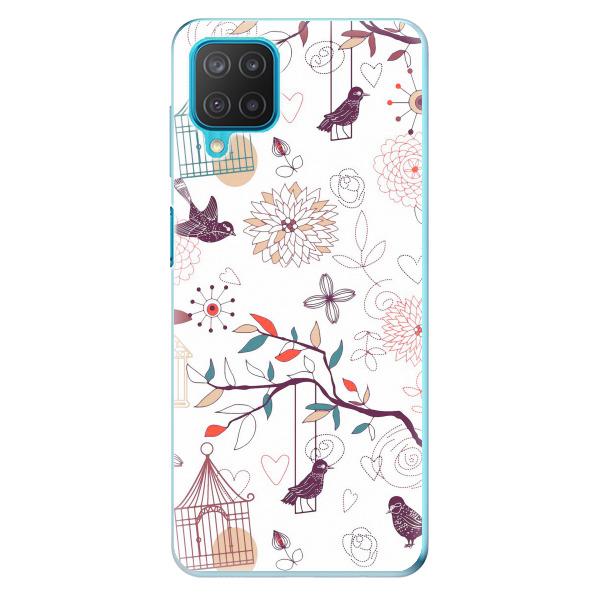 Odolné silikonové pouzdro iSaprio - Birds - Samsung Galaxy M12