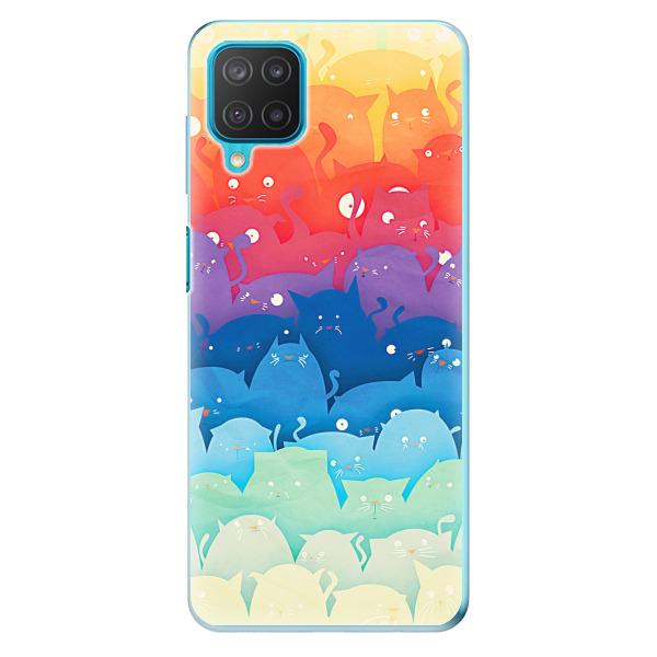 Odolné silikonové pouzdro iSaprio - Cats World - Samsung Galaxy M12