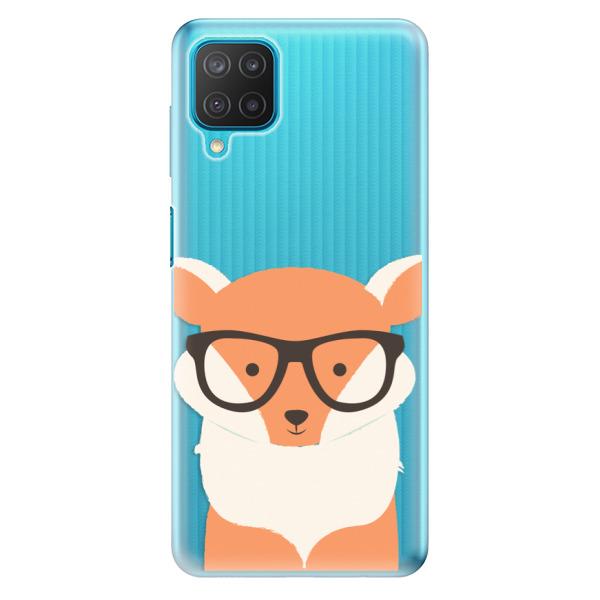 Odolné silikonové pouzdro iSaprio - Orange Fox - Samsung Galaxy M12
