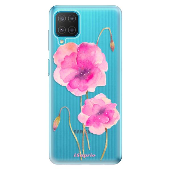 Odolné silikonové pouzdro iSaprio - Poppies 02 - Samsung Galaxy M12