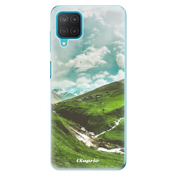 Odolné silikonové pouzdro iSaprio - Green Valley - Samsung Galaxy M12