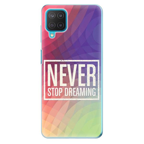 Odolné silikonové pouzdro iSaprio - Dreaming - Samsung Galaxy M12