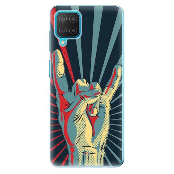 Odolné silikonové pouzdro iSaprio - Rock - Samsung Galaxy M12