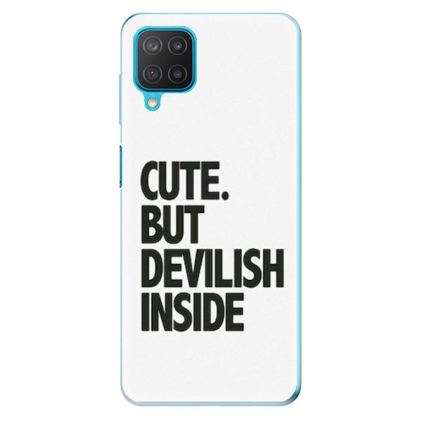 Odolné silikonové pouzdro iSaprio - Devilish inside - Samsung Galaxy M12